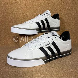 Adidas Daily 3.0 White Black Casual Skate Boarding